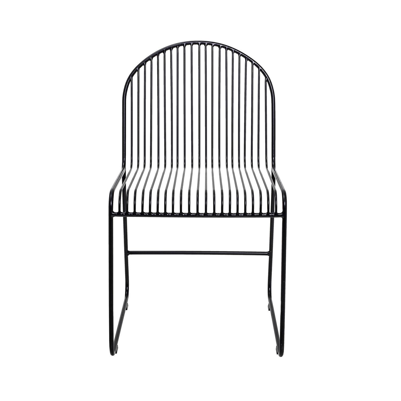 Friend Esstisch Sessel Schwarz Von Bloomingville –